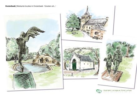 AL_voorbeeldblad-kaarten-Oosterbeek-sample-postcard